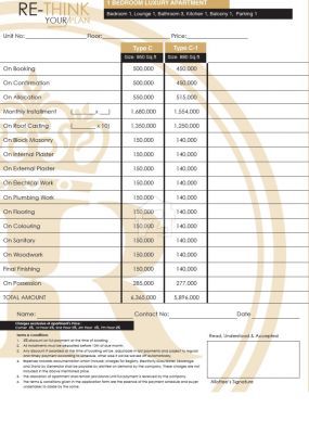 Payment Plan For C to C-1